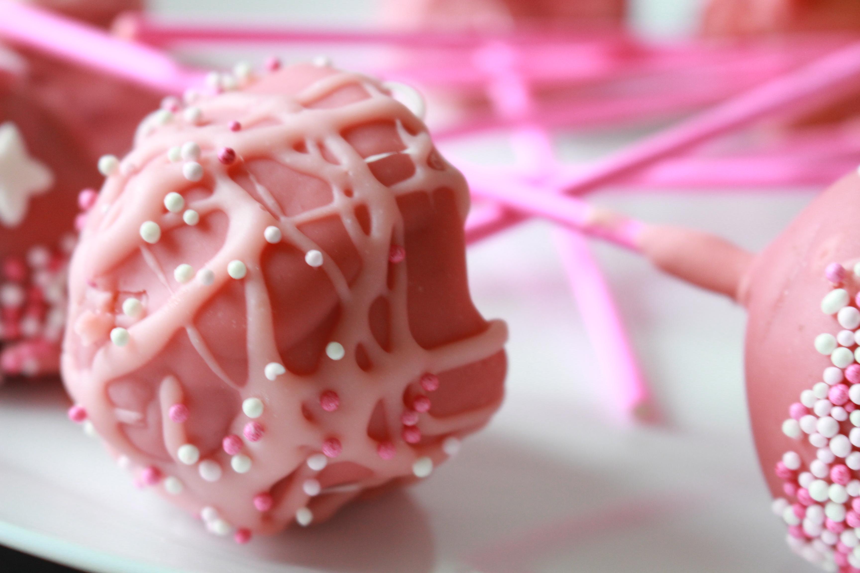 Valentine's Cakepops